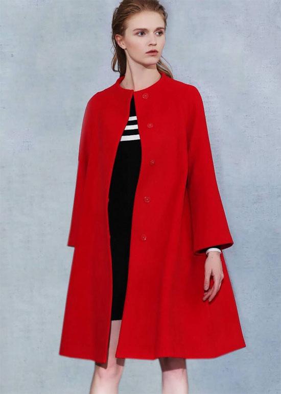 红耀新年 绽放绚丽 衣佰芬女装就是如此耀红