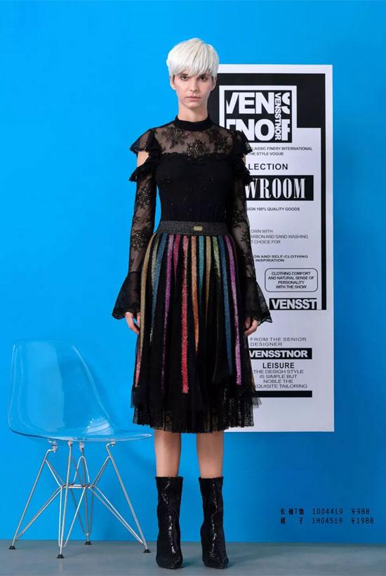 VENSSTNOR 2019/SPRING 打造独属春天的时髦单品