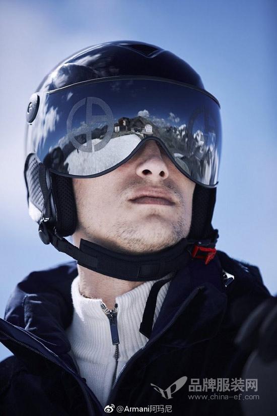 Giorgio Armani滑雪服 以基础线条唤醒时代韵致