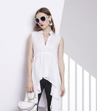 白衬衫要怎样穿才能穿出女神范儿 例格女装告诉你