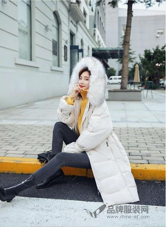 搜美品牌女装:长款羽绒服 教你不做冻美人