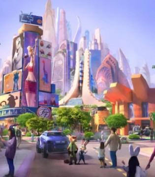 """上海迪士尼度假区将打造""""疯狂动物城""""主题园区"""