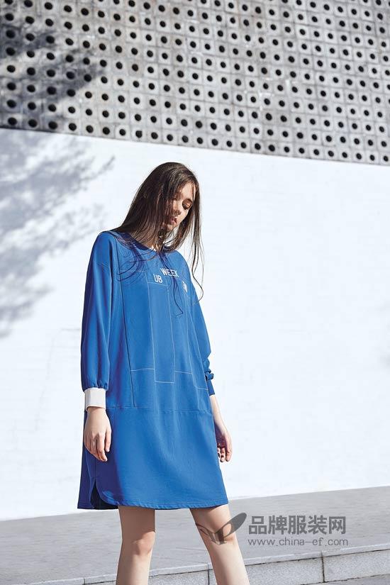 娅铂周末春上新 把碧海蓝天的恬静渲染进衣服里