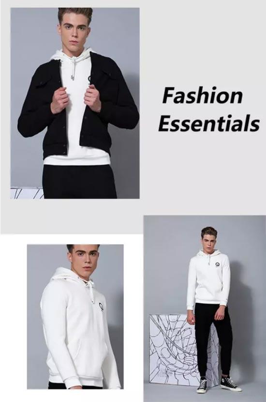 """莎斯莱思时髦的连帽卫衣 让你做个""""无龄感""""美男子!"""