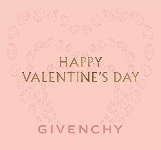 GIVENCHY纪梵希:请查收你的情人节礼物