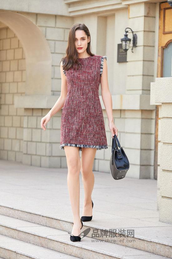 金蝶茜妮:春天来了 裙装也该上场了