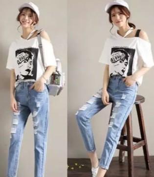 美酷思:原来九分牛仔裤这么时髦还百搭!
