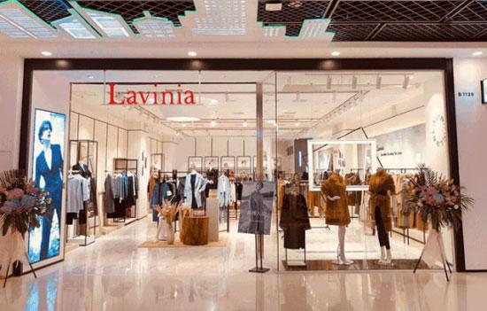 年度购物中心关注女装品牌TOP50 Lavinia上榜top 15