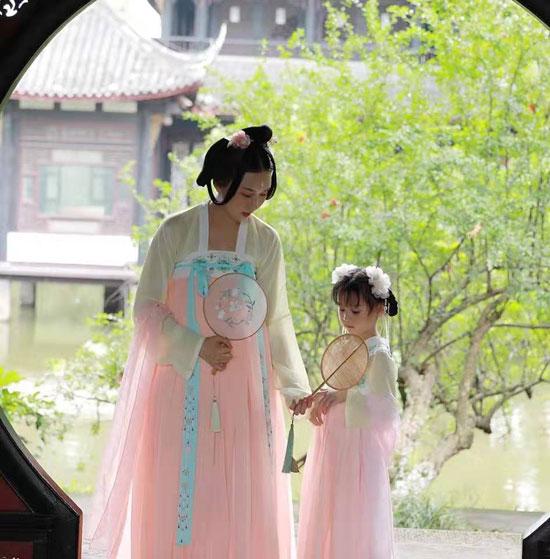 龙子印汉服中国风全新上市 体验一下汉服元素的美~