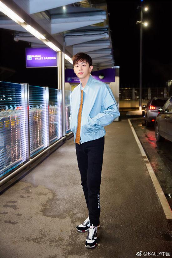 邓伦担任BALLY亚太区代言人 个性演绎2019春夏广告大片