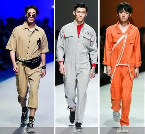 • 注重机能辅料细节,立体口袋,简约小领让工装连体裤更显休闲