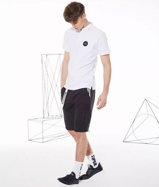 潮范十足的个性T恤 ZENL佐纳利点缀潮男新风尚
