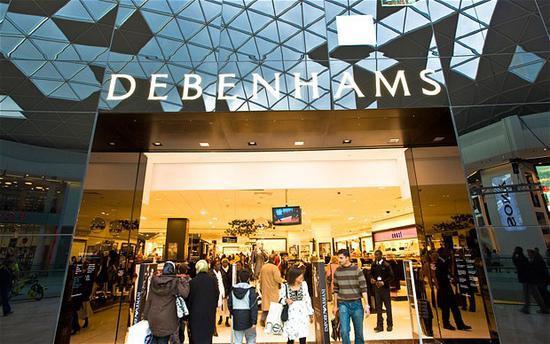 拒绝1.5亿英镑拯救计划后 英国百货Debenhams申请破产