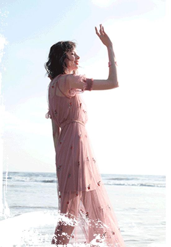 夏季【追光之旅】篇章硬质的浪漫之碎花术语!