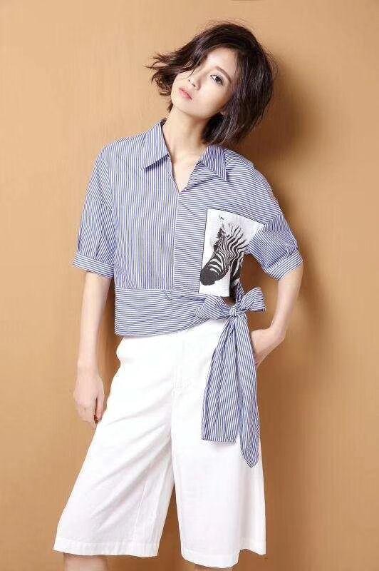 品牌折扣女装 夏日这样穿搭也能穿出新潮时髦感