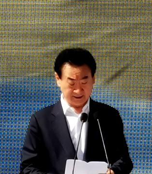 初个红色主题项目延安万达城奠基 王健林出席启动仪式