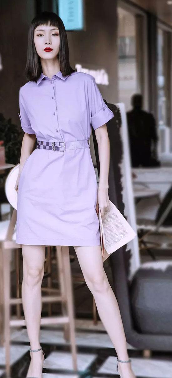 LADYERHENG雷迪尔恒 | 紫光女孩~