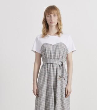 春夏高腰连衣裙有哪些 品牌折扣女装阿莱贝琳推荐