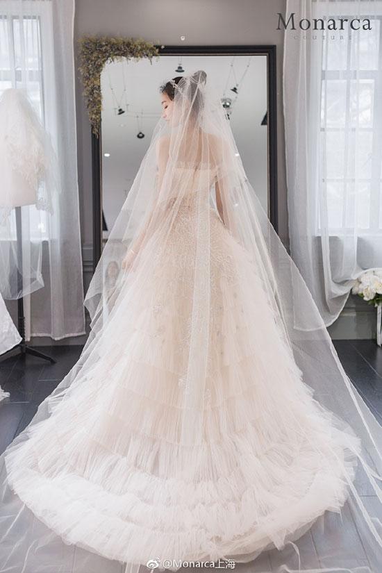 Monarca集成店的高定婚纱系列了解一下 美轮美奂~~