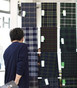 新天元环保色纺面料引爆上海校服展 强势入驻校服产业