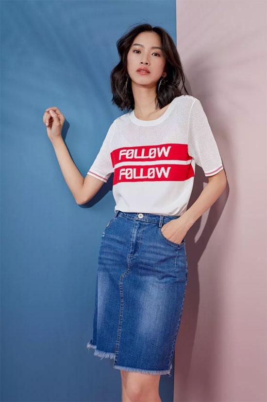 领秀:今年春夏T恤这样穿 太好看了!!