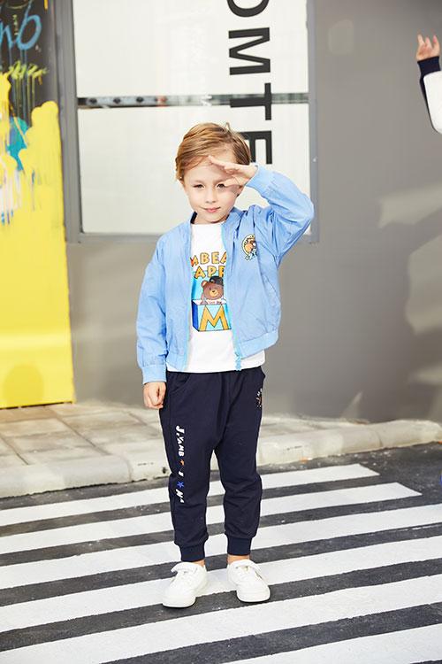 杰米熊时尚童装 让你不再为了孩子穿搭而烦恼