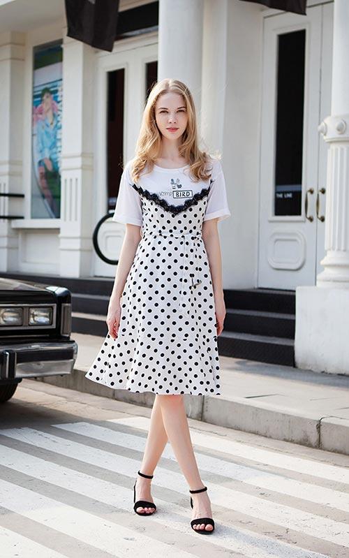 裙子千姿百态该如何选 不可少的秋之恋夏季甜美裙子