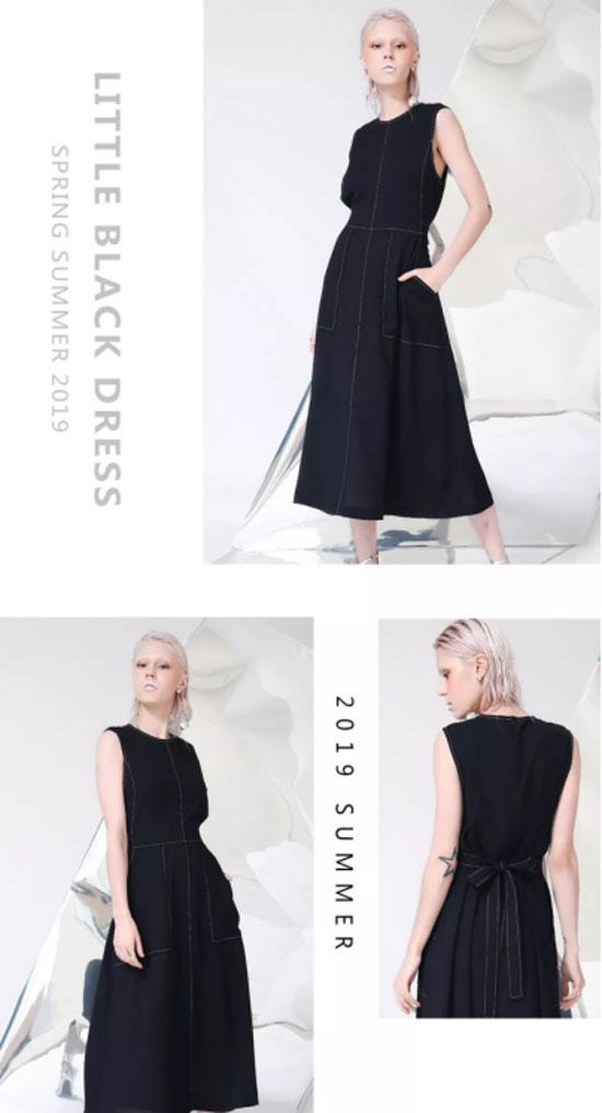 今年夏天 小黑裙必须拥有姓名!每件都美哭了!