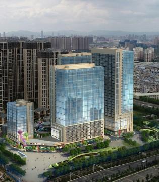 云玺城市花园A2地块过规 官渡区将添新商业