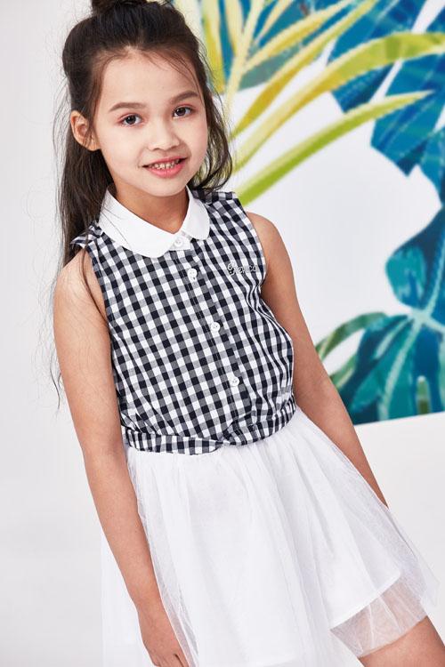 小猪班纳可爱女童装 可爱清纯童装 打造一个可爱小公主