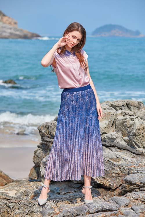 金蝶茜妮JDXN女装品牌潮水至上 享用潮水之风