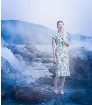 曼茜纱品牌领悟自然之美 将民族风推上时尚之峰