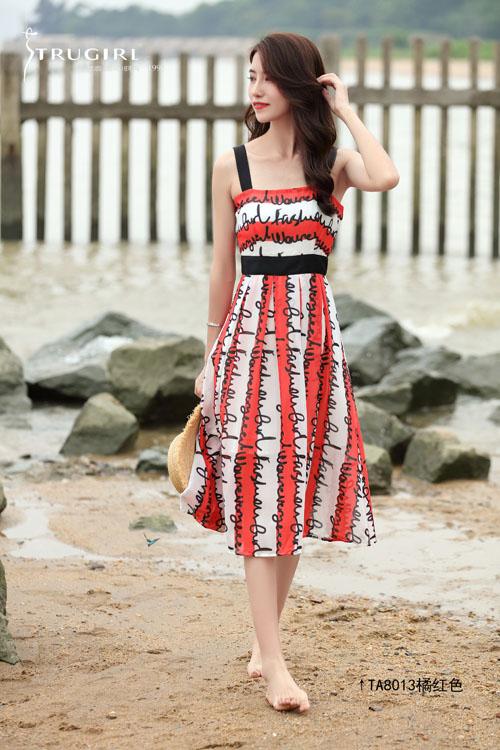 楚阁TRUGIRL品牌一款超适合去海滩的衣装 来看看吧