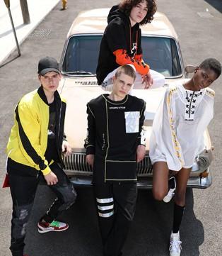 OFFBLACK品牌潮流街头打扮 让你酷到世界各地