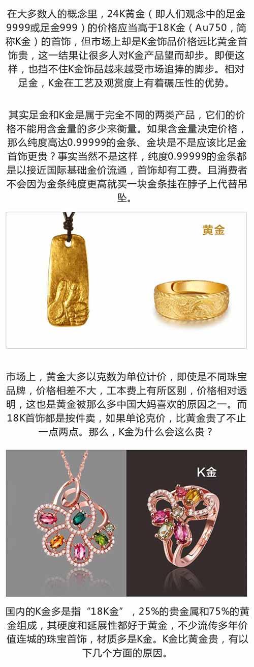 总有人说戴黄金和戴K金的差别很大,现在我信了!