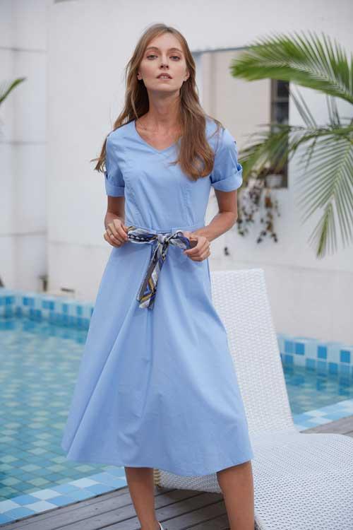 衣艾EI品牌百变风格连衣裙 快来了解一下吧!