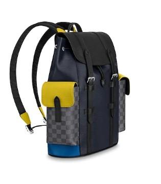旅行包太大不好背?来看看路易威登新款的双肩包