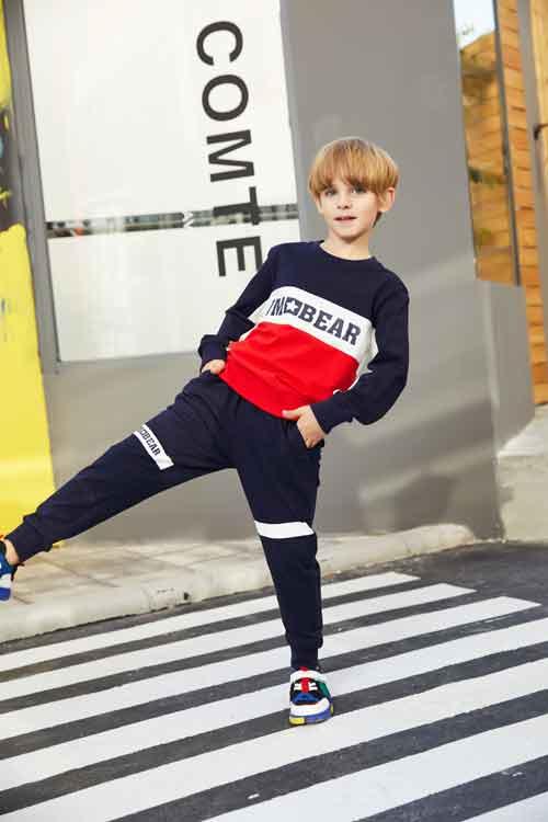 杰米熊品牌 潮流时尚打扮给男孩子一个完美童年