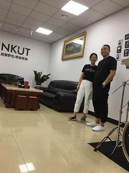 恭喜来自河南的刘总加入到恩咖品牌男装!