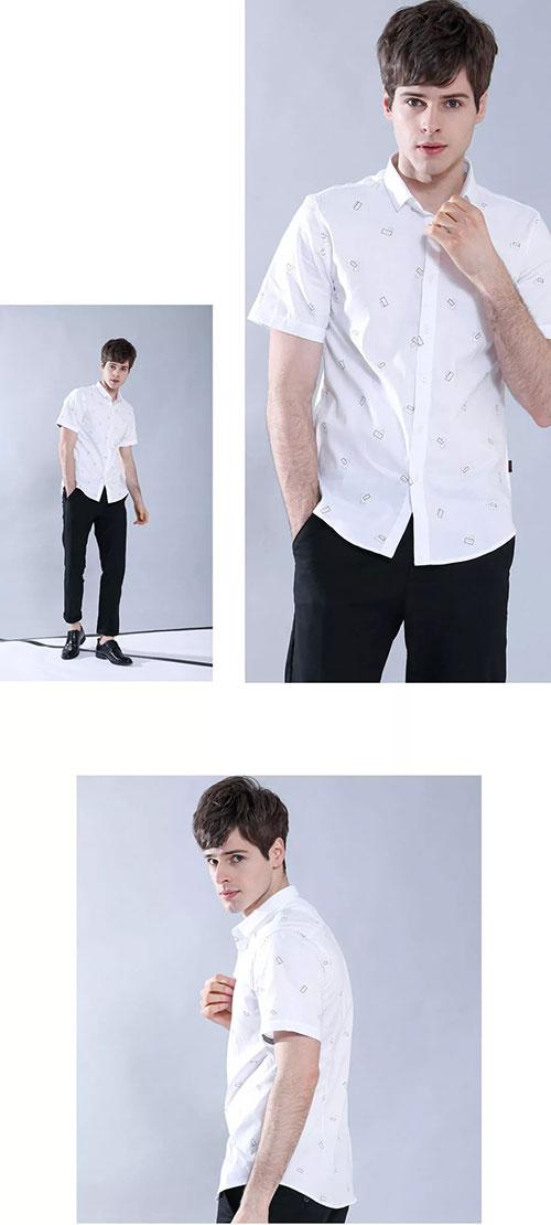 Saslax白衬衫太有型了 这个夏天穿上白衬衫 你就赢了!