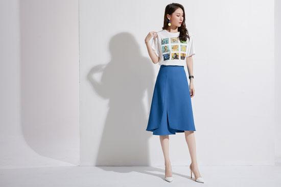 爱依莲女装品牌 一件衣装改变一次气质