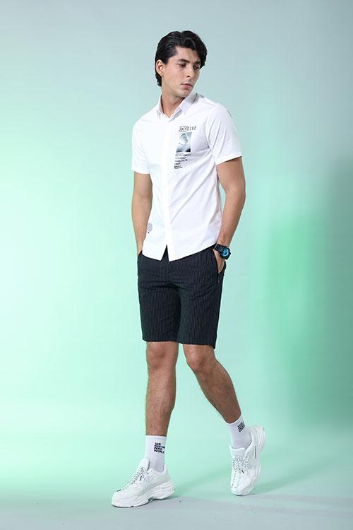今夏搭件莎斯莱思男装 时尚感与清爽感并存