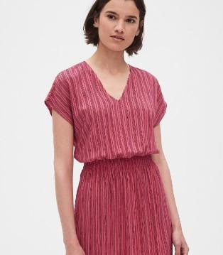 GAP(盖璞)品牌 短袖连衣裙新款上市