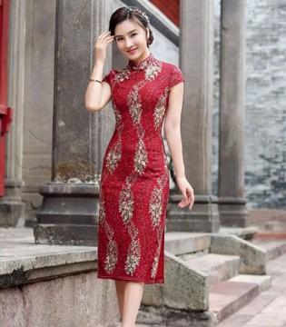 唐雅阁服饰 旗袍之美 美的令人难以言喻