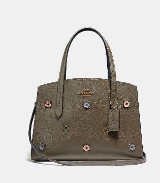 蔻驰奢饰品品牌 分离式铆钉CHARLIE 28号手袋新款上市