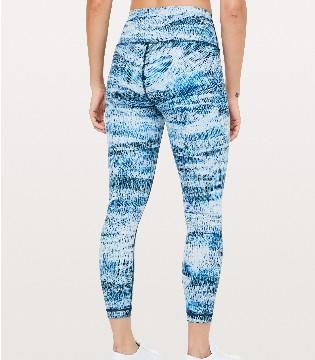 露露柠檬瑜伽服装品牌 Wunder Under女士高腰紧身裤