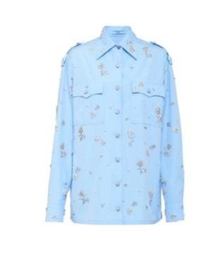 普拉达PRADA奢饰品品牌 府绸优雅单品两件新款上市