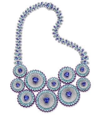 美如星空上的璀璨行星 正是Chopard优雅非凡的珠宝一套