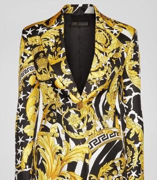 穿搭困难户?那就看看范思哲奢侈品牌的一套服装