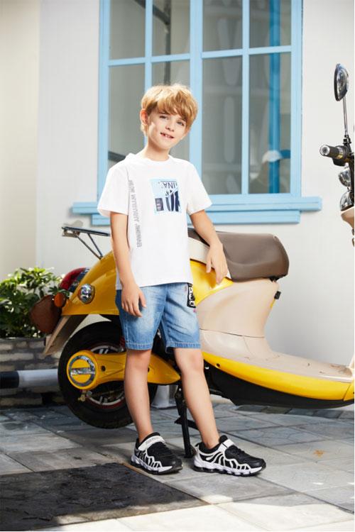 杰米熊童装夏季新品 成就童装小达人